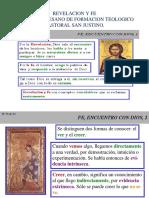 INTRODUCCIÓN A LA MATERIA REVELACIÓN Y FE 27-01-2020