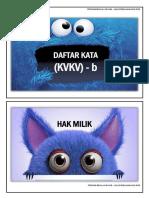 DAFTAR KATA KVKV