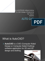 presentation on Auto CAD