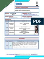 Guión Técnico-Literario para PodCast - RLopez