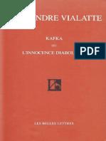 Kafka ou l'innocence diabolique