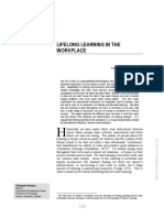 Lifelong learning in the workplace