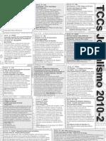 Defesa de TCCs - Jornalismo - UFSC - 2010.2 (parte II)