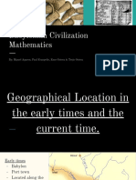 Babylonian Civilization Mathematics