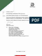 Dallas City Council ONCOR franchise briefing_1/30/2009