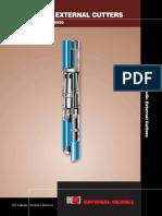 Hydraulic External Cutters Instruction Manual 5550 OEM