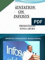 Presentation Infosys New
