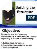 Building the Structure.ppt