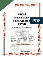 NOTA MATEMATIK UPSR_Cikgu Mazura