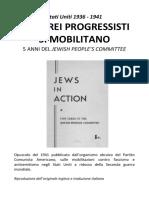 Stati Uniti 1936 - 1941 Gli Ebrei Progressisti Si Mobilitano