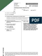 Edger A Gonzales Patent EU 1 127 918 B1 Polyolefin Blends Containing Ground Vulcanized Rubber
