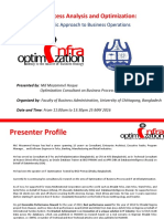 Business Process Analysis and Optimization - A Pragmatic Approach to Business Operations.pptx