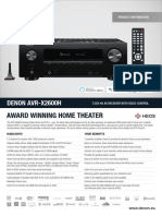 AVR-X2600H Product Information Sheet.pdf