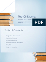 431729233 Studying for CII Exams 2018