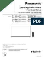 Panasonic Guide Manual