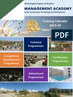 3B-Training Calendar-Open-Cert Programmes