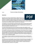 Bienvenidos al curso de Técnico en Redes Informáticas.docx