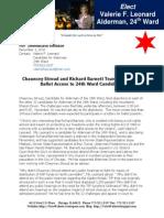 Press Release 12-2-10