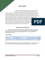 Materi Microsoft Office Excel