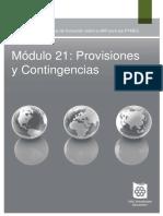 Modulo 21. Provisiones y Contingencias (NIIF PARA PYMES) CPT