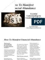 How to Manifest Financial Abundance