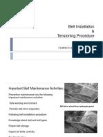 Belt Installation & Tensioning Procedure.ppt