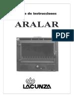 Aralar - Libro de instrucciones