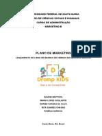 Elaboração de plano de marketing para lançamento de linha de barras de cereais no mercado gaúcho.