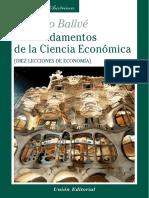 Los Fundamentos de La Ciencia Económica - Faustino Ballvé