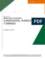 NAP 1-2-0.3. Climatología, hidrología y drenaje