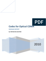 Codes for Optical CDMA Report with matlab code for simulation