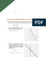 Matematicas Resueltos(Soluciones) Sistemas Ecuaciones.Metodo de Gauss 2º Bachillerato Opción B