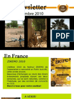 Newsletter Lyon Solidaire - Novembre 2010