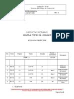 MQCL-SC54-CNS-IDT-0036 Rev. 0_ montaje postes de hormigon