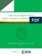 Informe de Gestión 2016 Sector Comercio, Industria y Turismo.pdf