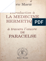 (Marie-Eric) Introduction a la medecine hermetique a travers l'ouvre de Paracelse (livre)