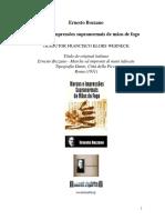 Ernesto Bozzano - Marcas e impressões supranormais de mãos de fogo