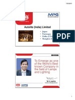 AUTOLITE Company Profile