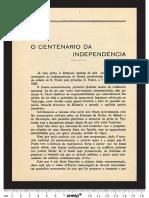 CENTENARIO da Independência
