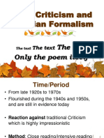 New Criticism and Formalism.ppt