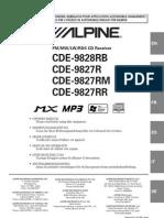 Alpine Car Audio Manual En