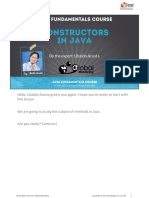 Constructors - Java
