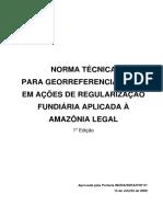 Topografia NTG AM Legal - Portaria 01 de 14.07.2009