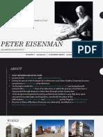 Peter Eisenmen.pptx