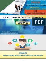 Sesion 05 Aplicaciones Educativas Moviles de Geografia 2020