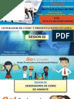 Sesion 03 Generadores de Comic y Lineas de Tiempo 2020