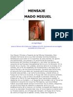 MENSAJE Del Arcangel Miguel