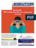 250 cabinets de recrutements au Top