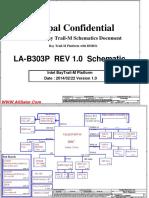 Toshiba Satellite C55-B LA-B303P Rev10 schematic