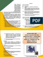 seminario prevención y atención ESCNNA